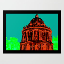 Oxford : Radcliffe Camera Pop Colour Art Print