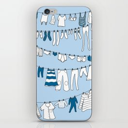 Laundry day iPhone Skin