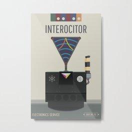 Interocitor Metal Print