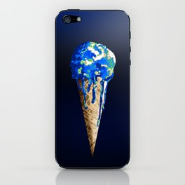 Melting World iPhone Skin