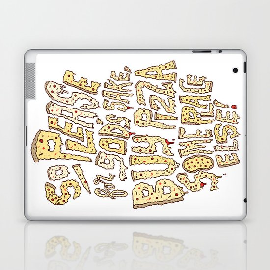 Buy Pizza Someplace Else! Laptop & iPad Skin