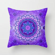 Orbit of Re-emergence Throw Pillow