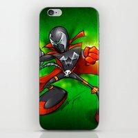 spawn iPhone & iPod Skins featuring Spawn  by alexviveros.net