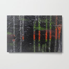 Toil Metal Print