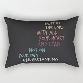 With all your Heart Rectangular Pillow
