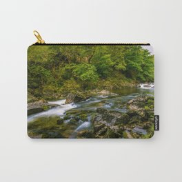Along the Glaslyn river Carry-All Pouch