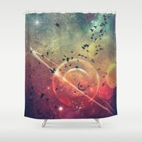 spires Shower Curtains featuring ∆tmysphyryc by Spires