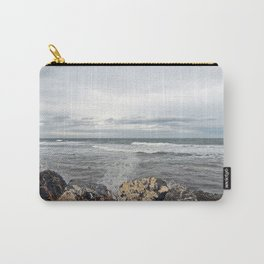 Sea Spray on the Rocks Carry-All Pouch