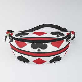 Four card suits Fanny Pack