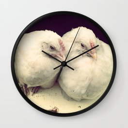 Pullet Partners Wall Clock