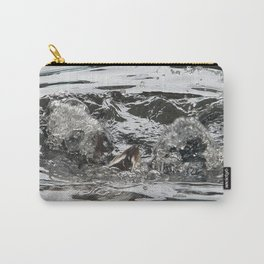 TEXTURES -- Troubled Waters Carry-All Pouch