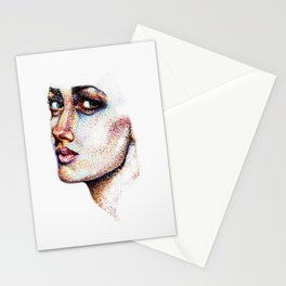Portrait Pointed Out Stationery Cards
