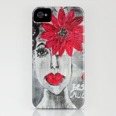 Besame mucho iPhone (4, 4s) Slim Case
