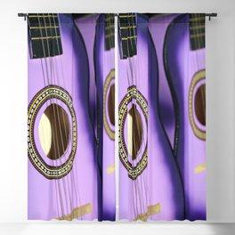 Purple Guitars Blackout Curtain