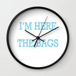 Black Friday Bags Shopping Lover Discounts Wall Clock