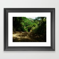 Outdoors @ Rincon Puerto Rico Framed Art Print