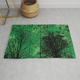 Turning Green Rug
