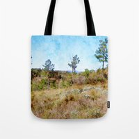 tennessee Tote Bags featuring Tennessee Wilderness by Phil Perkins