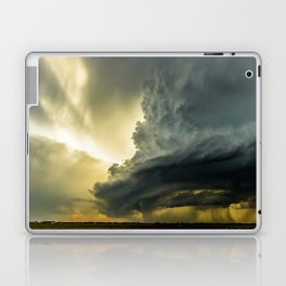 Supercell - Massive Storm Over the Great Plains Laptop & iPad Skin