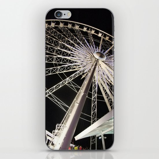 Wheeling Around iPhone & iPod Skin