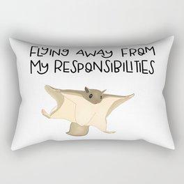Northern flying squirrel Rectangular Pillow