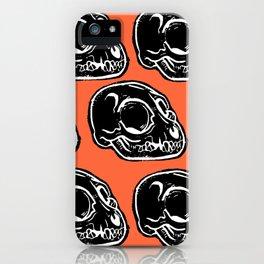Cat skulls iPhone Case