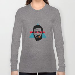 Neo Poinitlism: Hardy Long Sleeve T-shirt