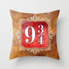 9 3/4 Throw Pillow