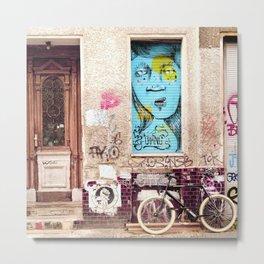 STREETART BERLIN by Jay Hops Metal Print