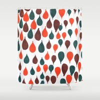 baloon Shower Curtains featuring Baloon by kartalpaf