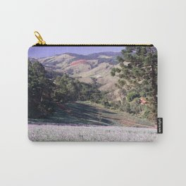 Lavenders and mountains Carry-All Pouch