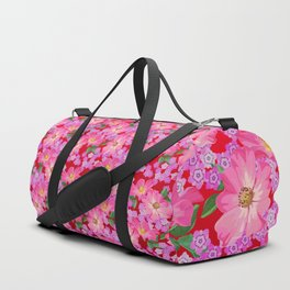 tossed flower garden Duffle Bag