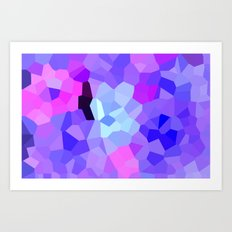 Purple Pink Amethyst - See Leggings! Art Print