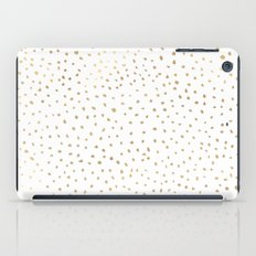 Dotted Gold iPad Case