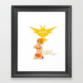 Team Instinct Girl Framed Art Print
