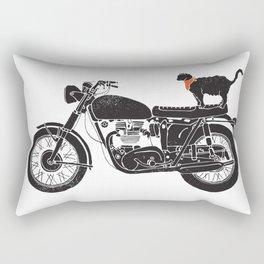 Purrfect Roadtrip.. Rectangular Pillow