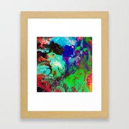 JUST COLOUR Framed Art Print