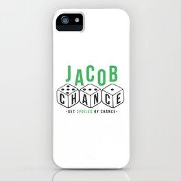 Jacob Chance iPhone Case