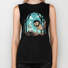 Where the Wild Adventures Are Biker Tank