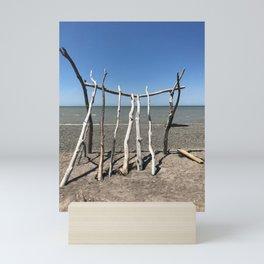 """Beach Art"" Photography by Willowcatdesigns Mini Art Print"
