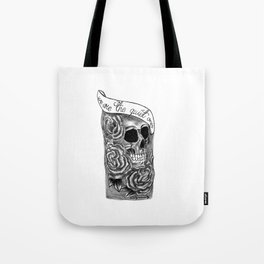 We Are The Quiet Ones Tattoo Tote Bag
