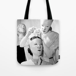 Saving Face Tote Bag