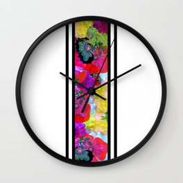 Fruitful Crowning Wall Clock