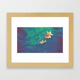 Pixelfish Framed Art Print