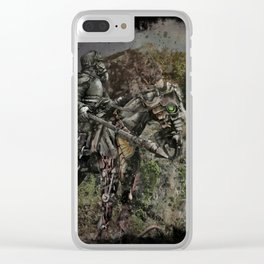 Aftermath Clear iPhone Case
