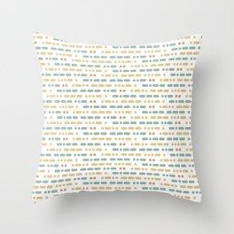 I Love You Morse Code Throw Pillow