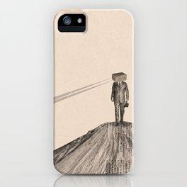 Walking Man iPhone Case
