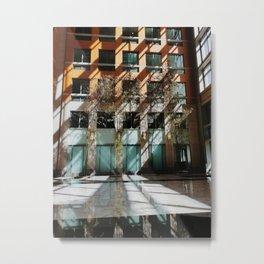 Shadows in Washington DC Boutique Hotel Metal Print