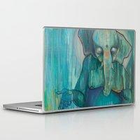 ganesh Laptop & iPad Skins featuring Ganesh  by Magick Monica