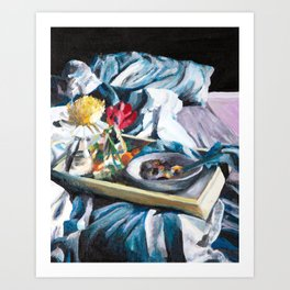 Breakfast in Bed, No. 2 Art Print